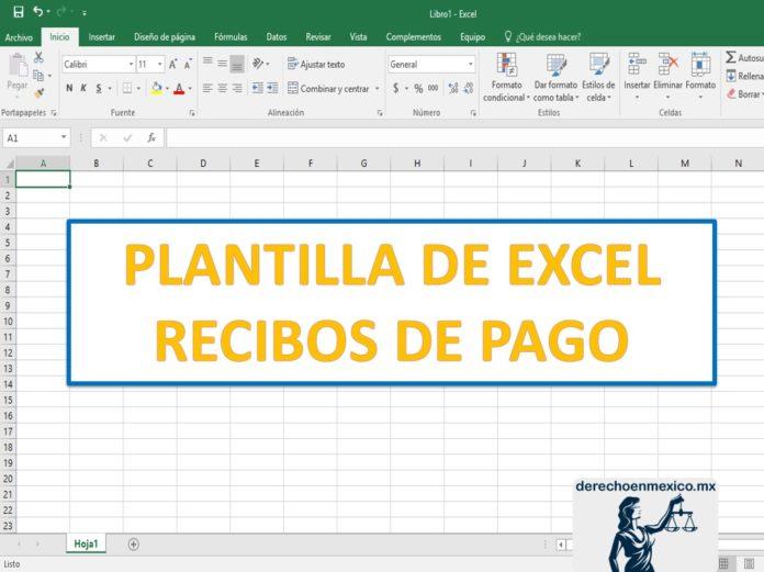 Plantilla De Excel Recibos De Pago Derechoenmexicomx