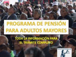 PROGRAMA DE PENSIÓN PARA ADULTOS MAYORES