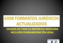 FORMATOS JURÍDICOS PARA MÉXICO