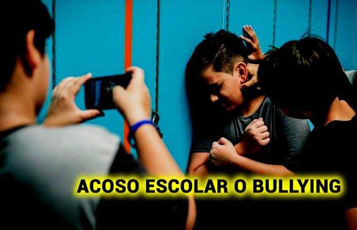 ACOSO ESCOLAR O BULLYING