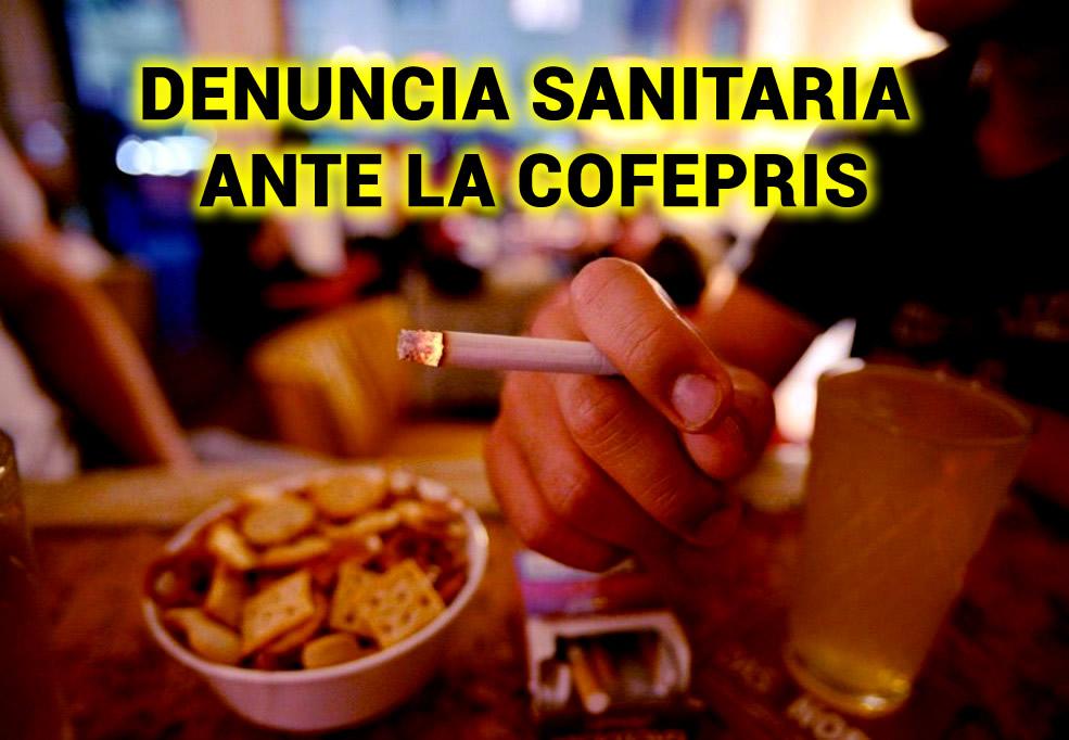 DENUNCIA SANITARIA ANTE LA COFEPRIS