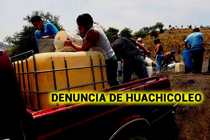 DENUNCIA DE HUACHICOLEO