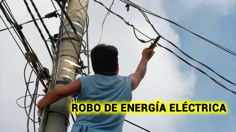 sustracción ilegal de energía eléctrica