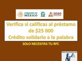 Crédito Solidario a la palabra