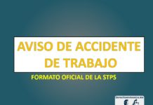 Aviso de accidente de trabajo