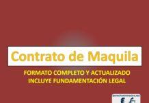 Contrato de Maquila