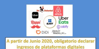 obligatorio declarar ingresos de plataformas digitales