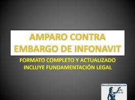 AMPARO CONTRA EMBARGO DE INFONAVIT