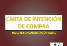 CARTA DE INTENCIÓN DE COMPRA