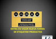 ENTRA EN VIGOR UNA NUEVA FORMA DE ETIQUETAR PRODUCTOS