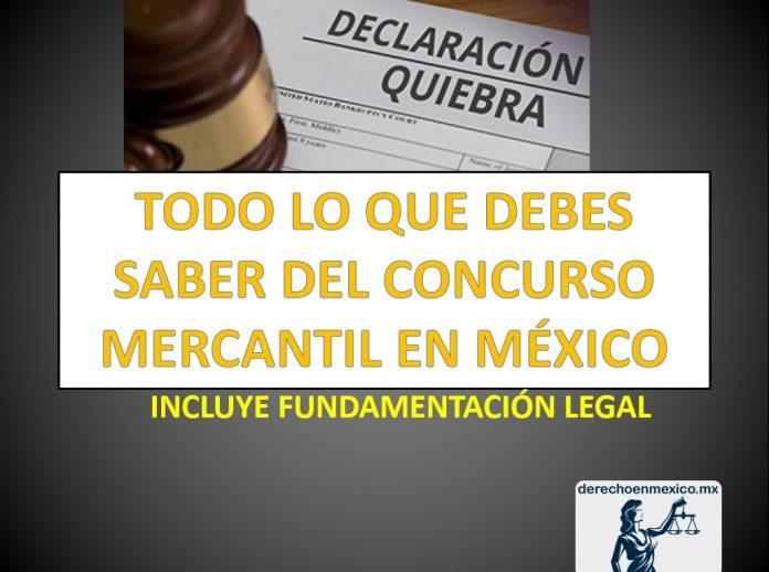 TODO LO QUE DEBES SABER DEL CONCURSO MERCANTIL EN MÉXICO