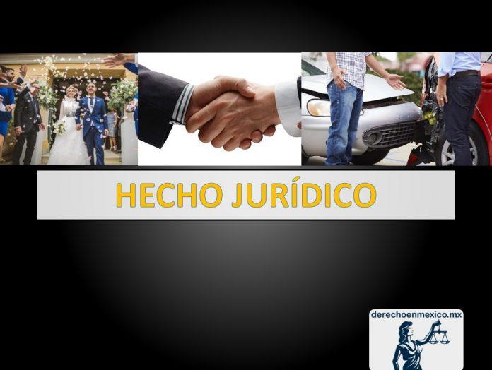 DEFINICIÓN DE HECHO JURÍDICO